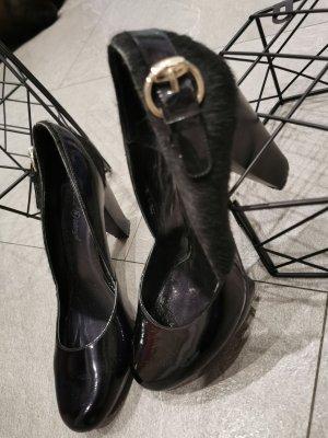 schuhtzengel pumps High heels gr 38 lack /fell