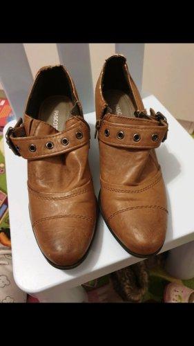 Sailing Shoes cognac-coloured
