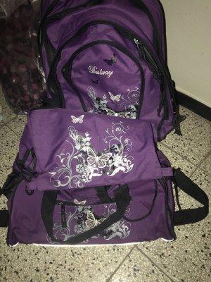 Backpack Trolley dark violet