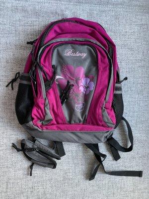 Mochila escolar negro-violeta