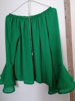 0039 Italy Carmen shirt groen