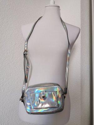 Accessorize Bolsa de hombro color plata