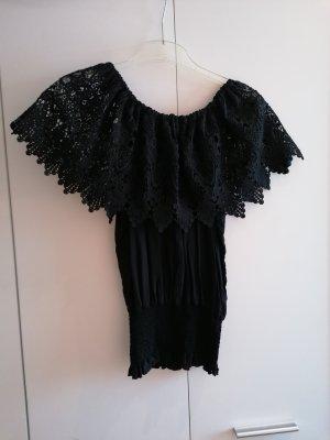 Crochet Top black