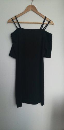 H&M Robe épaules nues noir