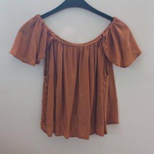 Schulterfrei Bluse