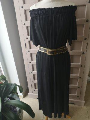 Zara Off-The-Shoulder Dress black