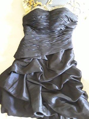 Niente Off-The-Shoulder Dress dark blue