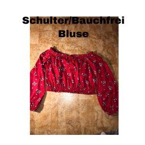 Schulterfreie/Bauchfreie Bluse