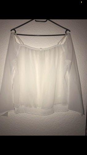 Amisu Silk Blouse white