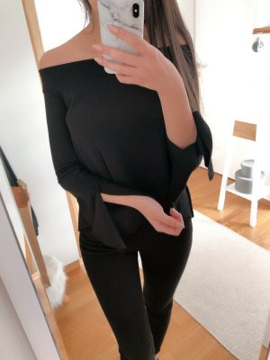 Zara Top cut-out nero