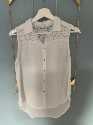Subdued Lace Blouse white