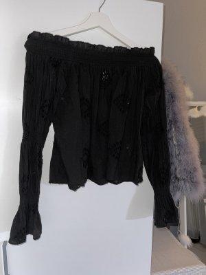 Schulterfreie Bluse von Zara