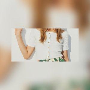 Schulterfreie Shirt / Bluse