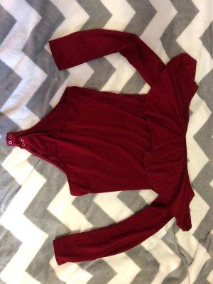 Bershka Carmen Shirt carmine