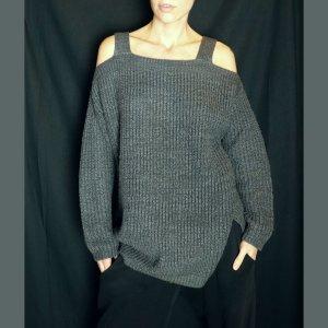 Colloseum Maglione lavorato a maglia grigio scuro