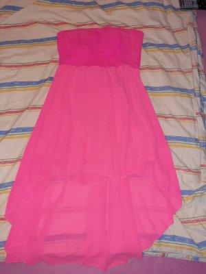 Vestido mullet rosa-rosa neón