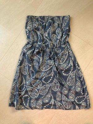 schulterfreies Boho Kleid von Next, Gr. 40