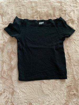 Urban Classics Camicia cropped nero
