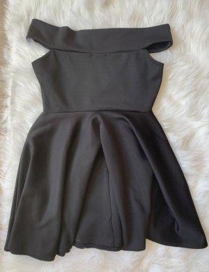 Bohoo Robe de cocktail noir