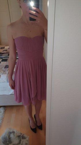 YAS Bandeau Dress pink
