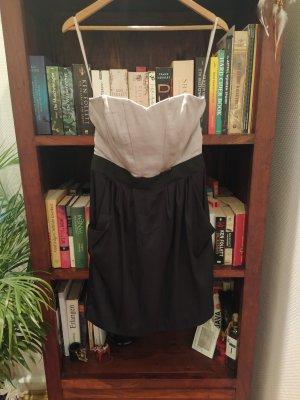 Schulterfreies Kleid Gr. 38