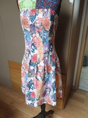 H&M Off-The-Shoulder Dress multicolored