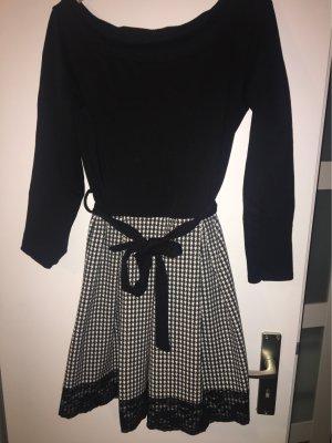 Schulterfreies Kleid mit Spitze, Größe: 38, 100% Baumwolle