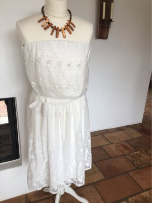 A.J.Morgan Corsage Dress natural white-cream