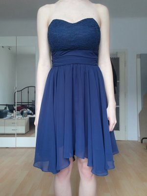 Swing Off-The-Shoulder Dress blue