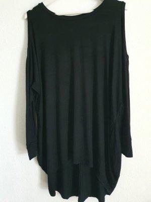 schulterfreies Longshirt/kurzes Kleid