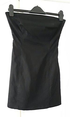 One green elephant Corsage Dress black