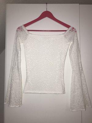 Hollister Carmen shirt wit