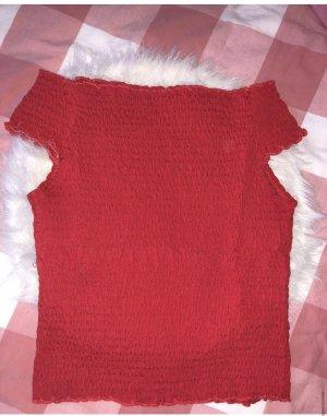 New Yorker Camisa acanalada rojo