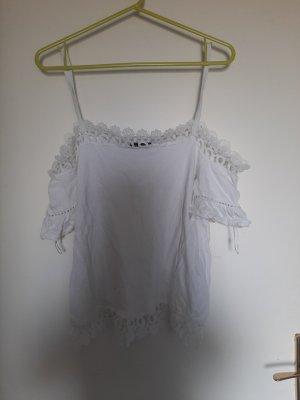 Janina Hauts épaule nues blanc