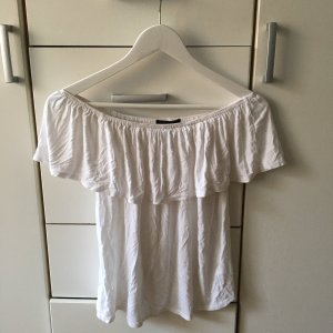 Atmosphere Off-The-Shoulder Top white