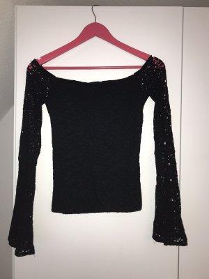 Hollister Carmen shirt zwart