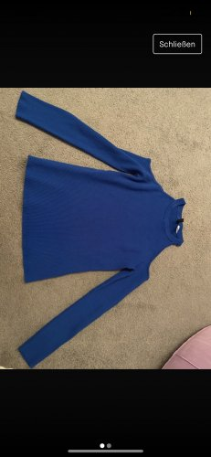 H&M Off the shoulder top blauw
