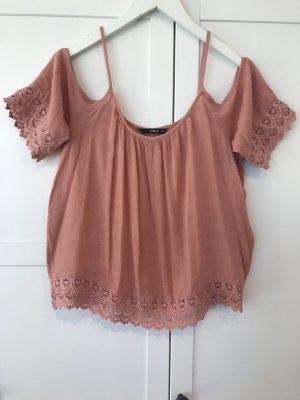 Only Off-The-Shoulder Top salmon