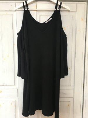 Pull & Bear Cut Out Dress black