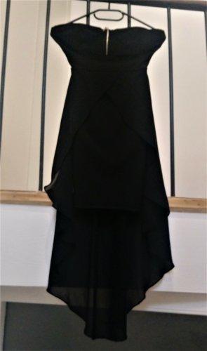 Vestido mullet negro Poliéster