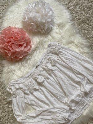 Pimkie Camisa acanalada blanco