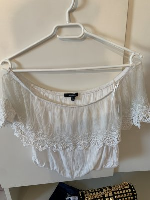 Ambiance Halter Top white