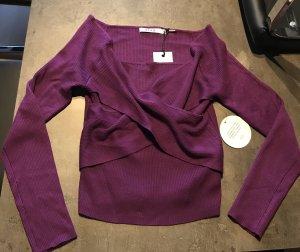NA-KD Carmen shirt lila