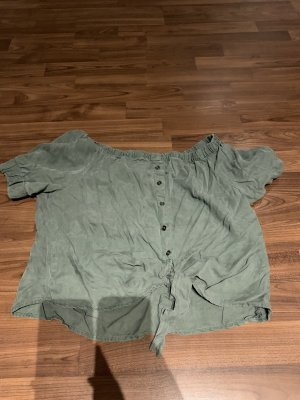 Noisy May Eénschoudershirt khaki