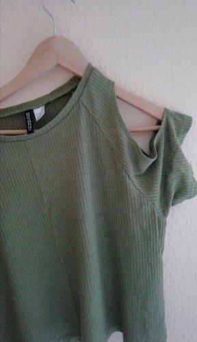 Schulterfreies Shirt von H&M