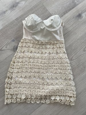 Bustier Dress cream-natural white