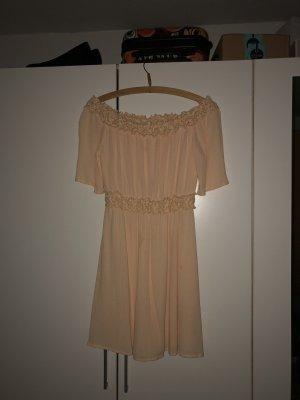 Clockhouse Off the shoulder jurk nude