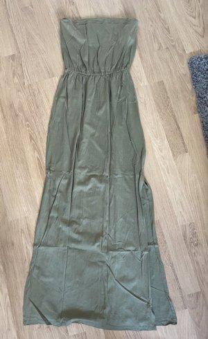 H&M Sukienka plażowa oliwkowy-khaki