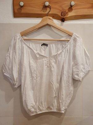 Schulterfreies T Shirt
