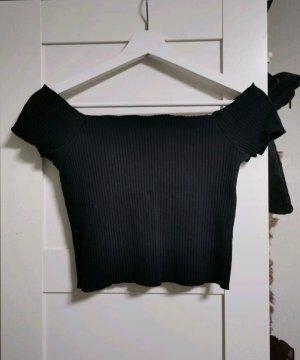 Schulterfreies T-shirt Zara